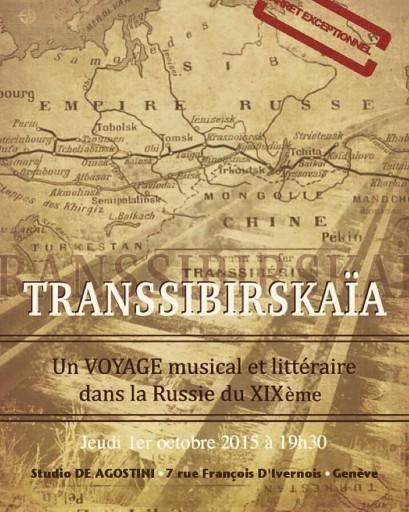 Transsibirskaia Affiche