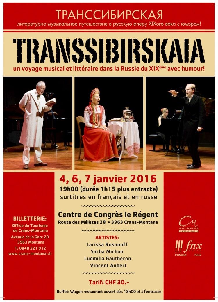Transsibirskaia at Crans-Montana