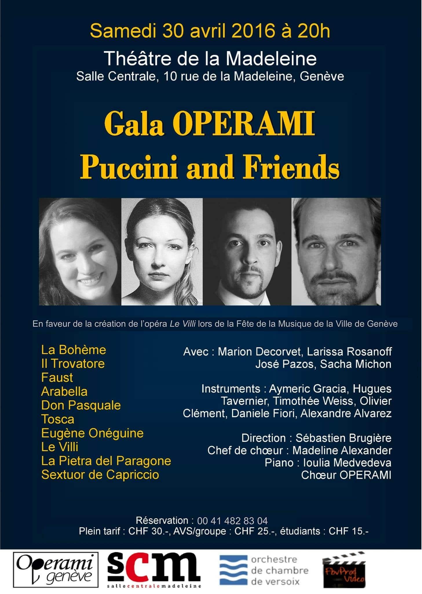 Opera Gala – Puccini