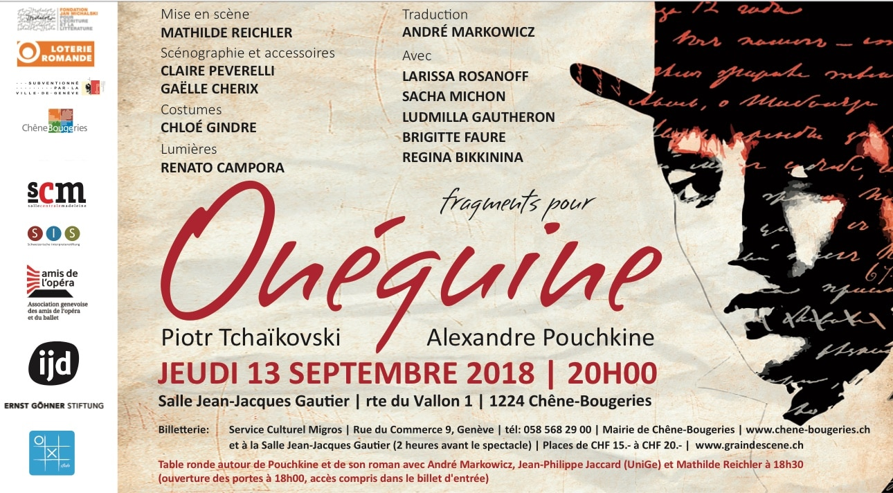 Oneguine at Theater Gauthier